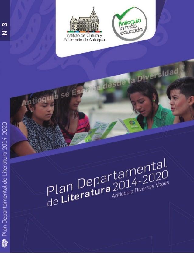 1 Plan Departamental de Literatura 2014-2020