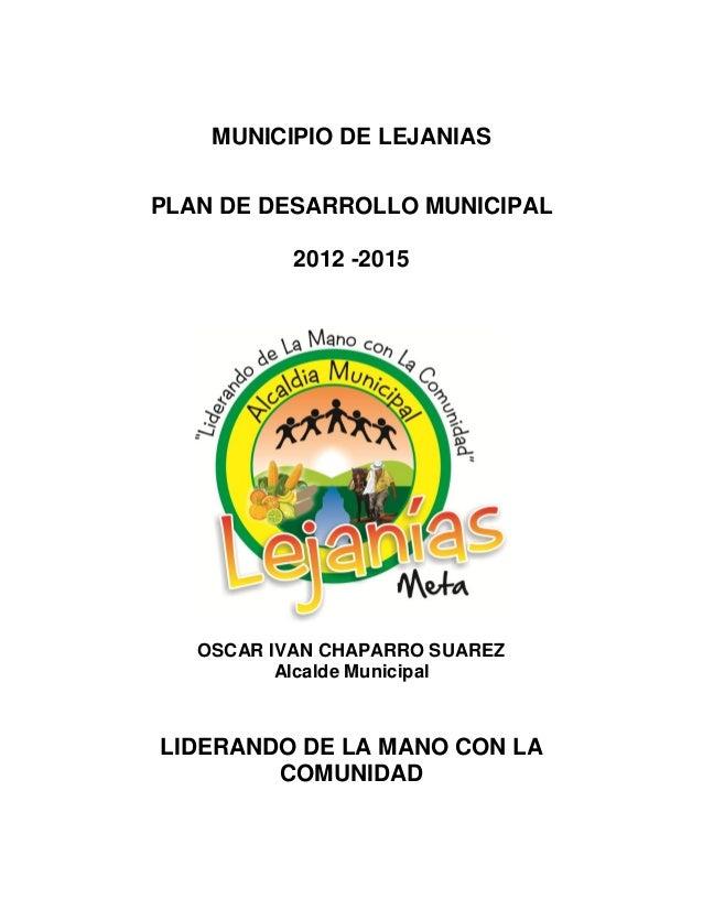 Plan desarrollo 2012_2015