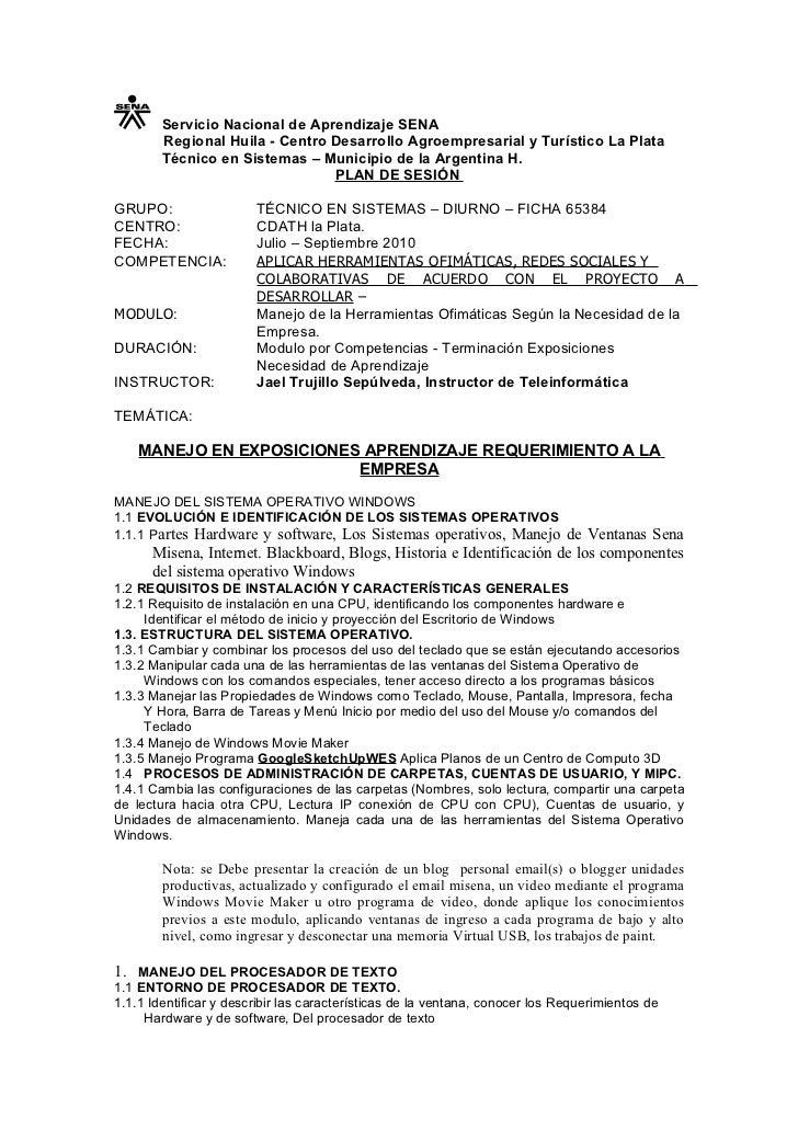 Servicio Nacional de Aprendizaje SENA        Regional Huila - Centro Desarrollo Agroempresarial y Turístico La Plata      ...