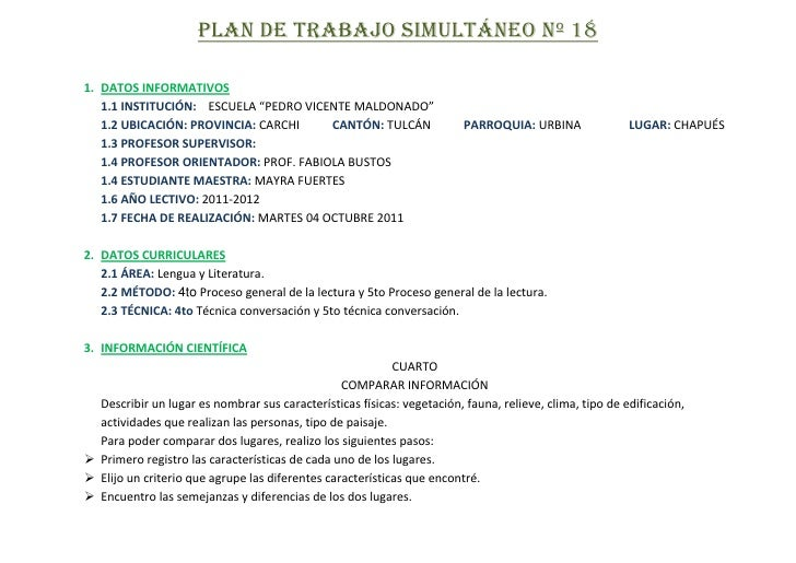 PLANIFICACIONES DEL 03-07 OCT
