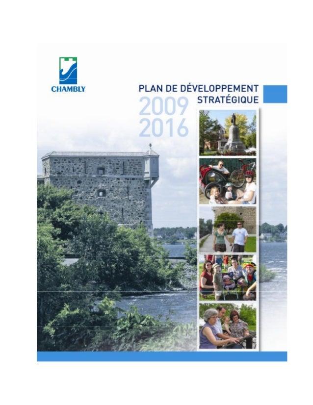 Plan developpement strategique_2009_2016