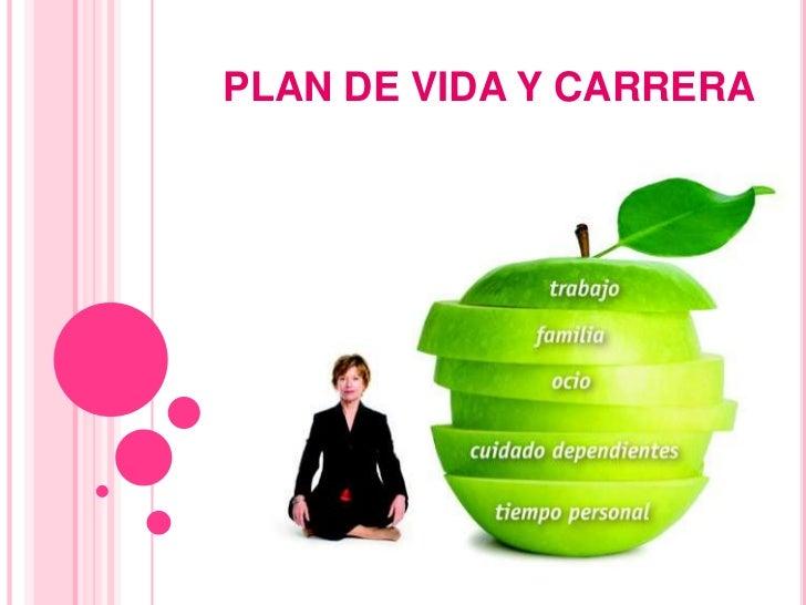 Plan de vida y carrera slideshare mejor conjunto de frases