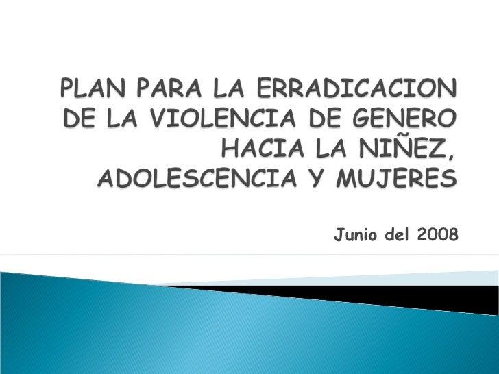 Plan De Violencia
