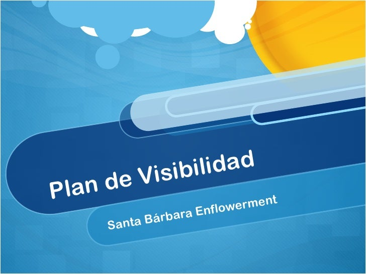 Plan de Visibilidad Santa Bárbara Enflowerment
