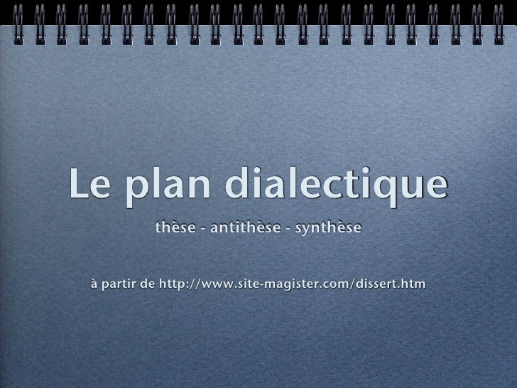 plan analytique dissertation franais