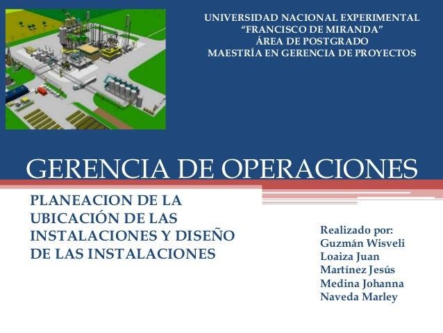 planeaci n ubicaci n y dise o de las instalaciones On planeacion y diseño de instalaciones pdf