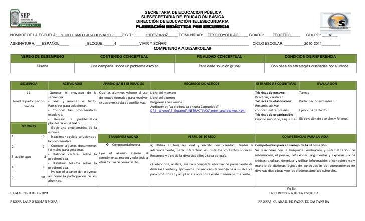 SECRETARIA DE EDUCACION PÚBLICA<br />10869295-87630-8890-182245SUBSECRETARÍA DE EDUCACIÓN BÁSICA<br />DIRECCIÓN DE EDUCA...