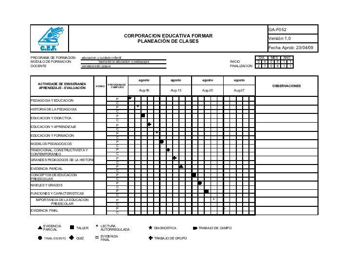 GA-F052                                                       CORPORACION EDUCATIVA FORMAR                                ...