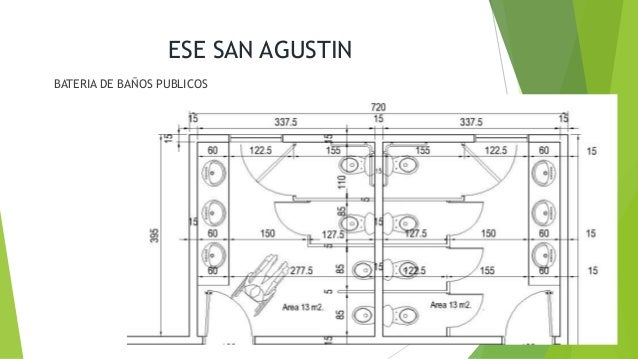 Medidas Baño Publico:ese san agustin bateria de baños publicos 26 ese san