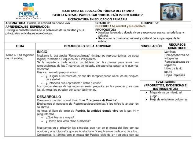 """SECRETARIA DE EDUCACIÓN PÚBLICA DEL ESTADOESCUELA NORMAL PARTICULAR """"PROFR. RAÚL ISIDRO BURGOS""""LICENCIATURA EN EDUCACIÓN P..."""