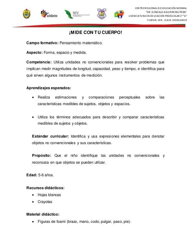 """CENTRO REGIONAL DE EDUCACIÓN NORMAL """"DR. GONZALO AGUIRREBELTRÁN"""" LICENCIATURA EN EDUCACIÓN PREESCOLAR 2° """"A"""" TUXPAN, VER.,..."""