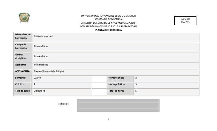UNIVERSIDAD AUTÓNOMA DEL ESTADO DE MÉXICO                                                               SECRETARÍA DE DOCE...