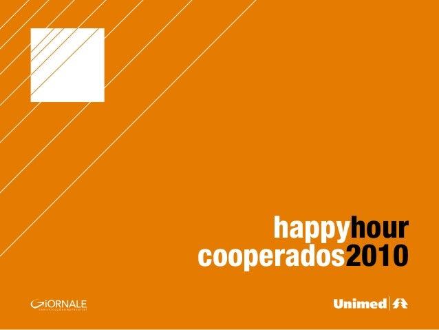 happyhour cooperados2010