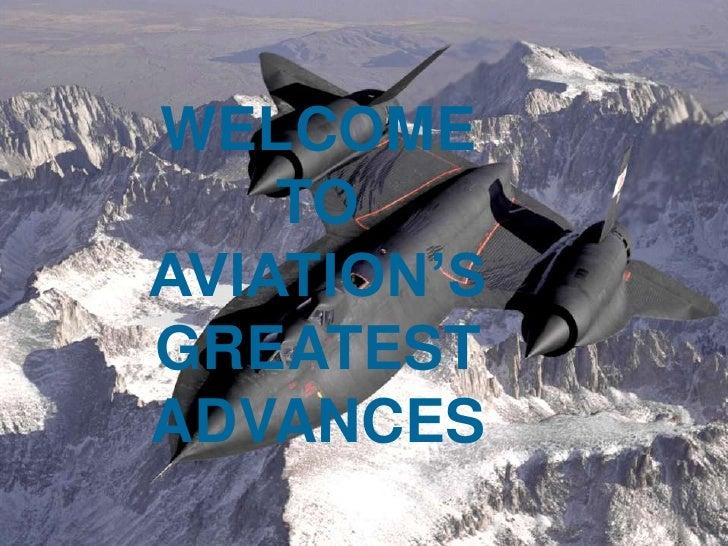 Plane Presentation