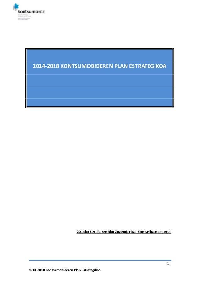 2014-21018 Kontsumobideren Plan Estrategikoa
