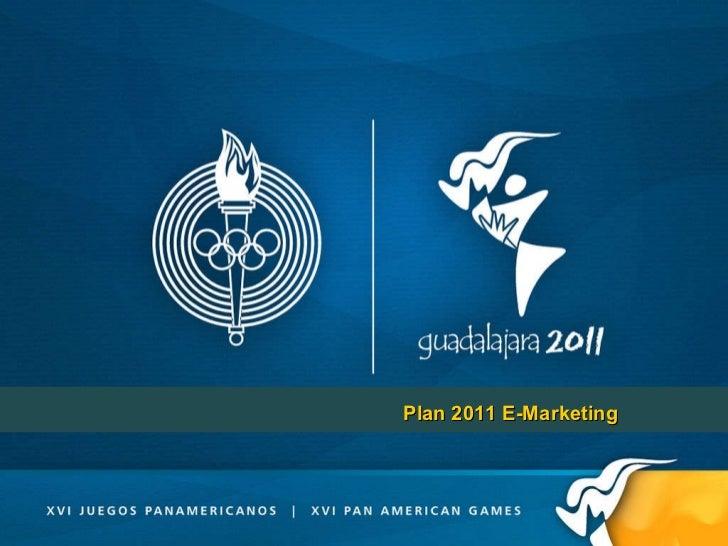 Plan 2011 E-Marketing