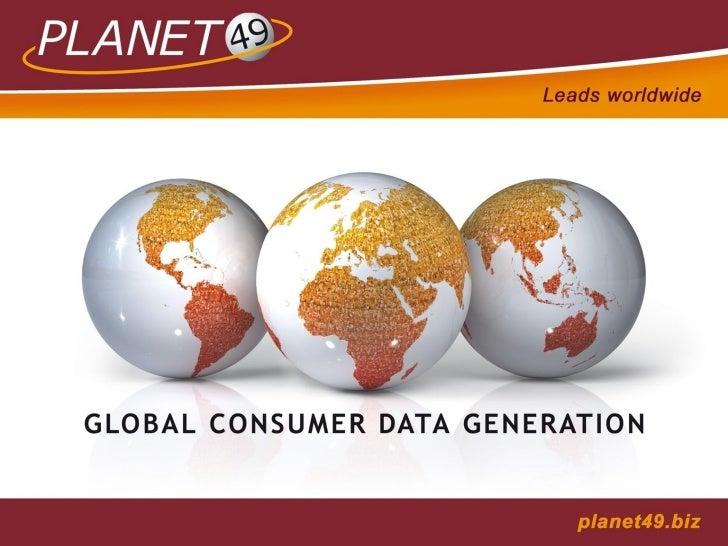 Sumário   1. PLANET49 GmbH   2. Internacional   3. O papel da PLANET49   4. DATA SHARING:         4.1 Massificação da Comu...