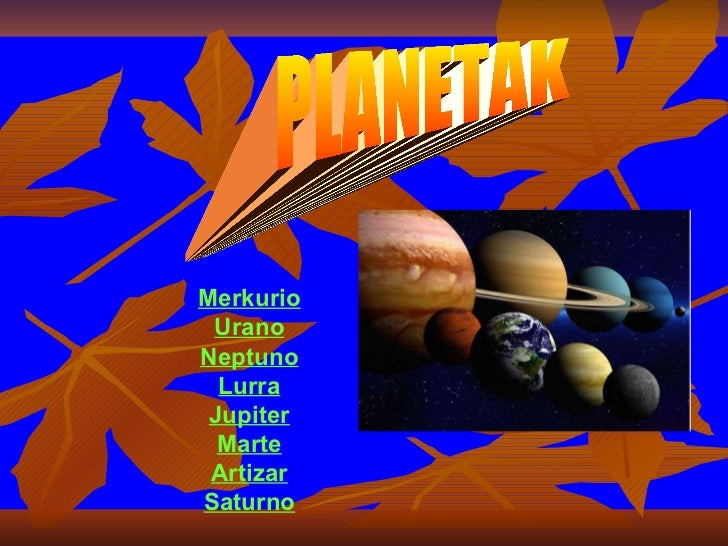 Planetak