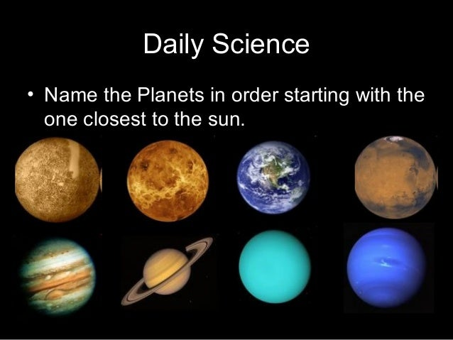 list names of planets - photo #40