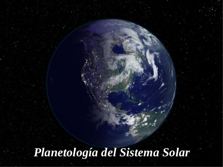 Planetología del Sistema Solar