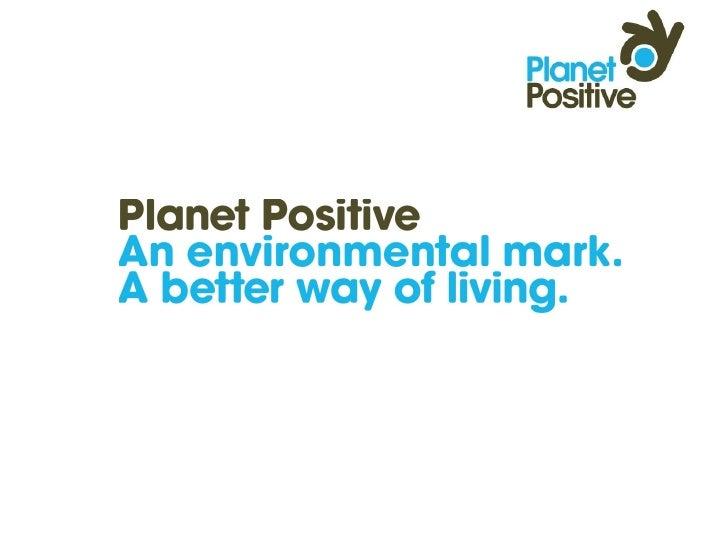 Planet Positive Presentation