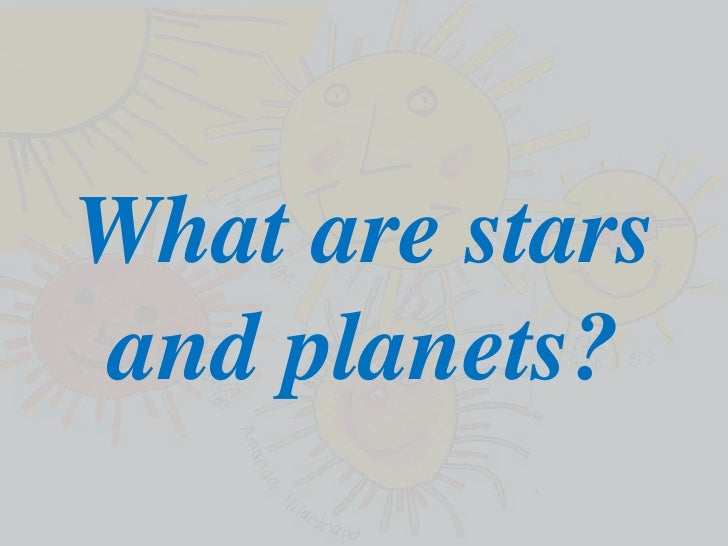 Planets and the solarsystem