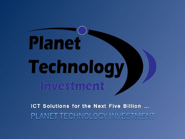 Planet Technology Investment