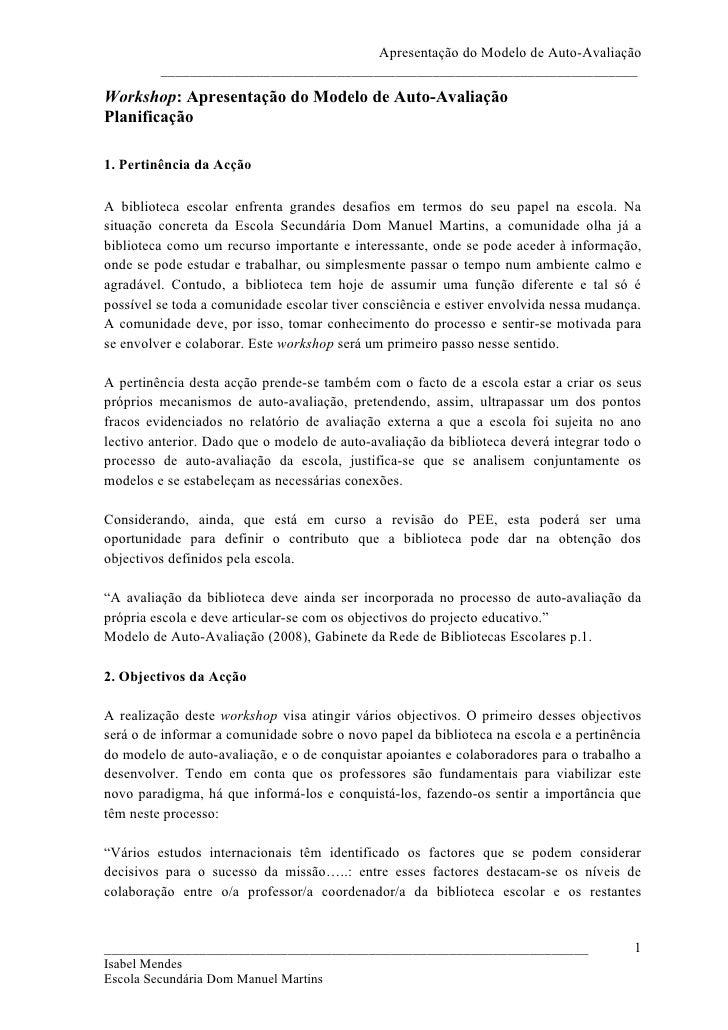 Planificacao Workshop Auto Avaliacao[1]