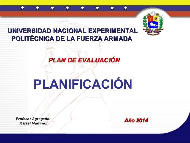 Planificación. presentación  21 julio de 2014