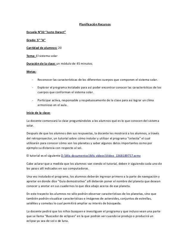 Planificación recursos   tutorial