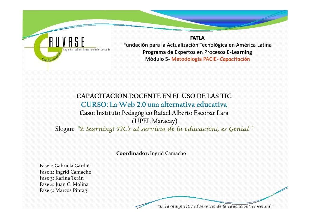 FATLA                                 Fundación para la Actualización Tecnológica en América Latina                       ...