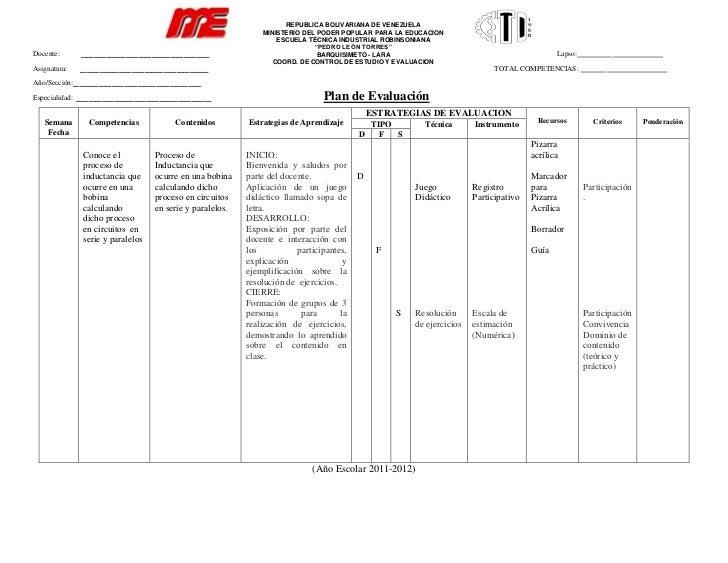Planificacion de la 1er clase