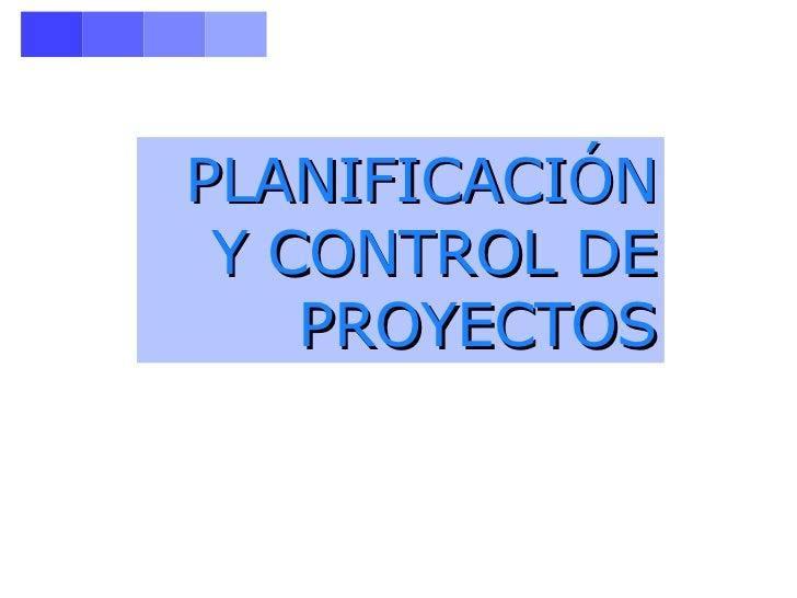 Seguimiento de proyectos -