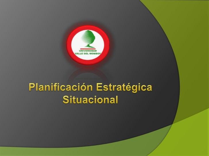 carlos matus planeacion situacional: