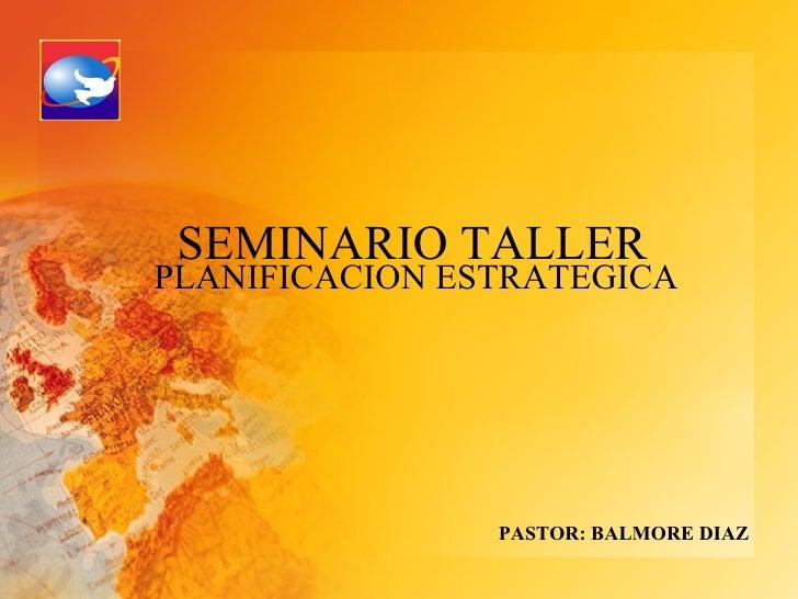 Planificacion Estrategica De Iglesias