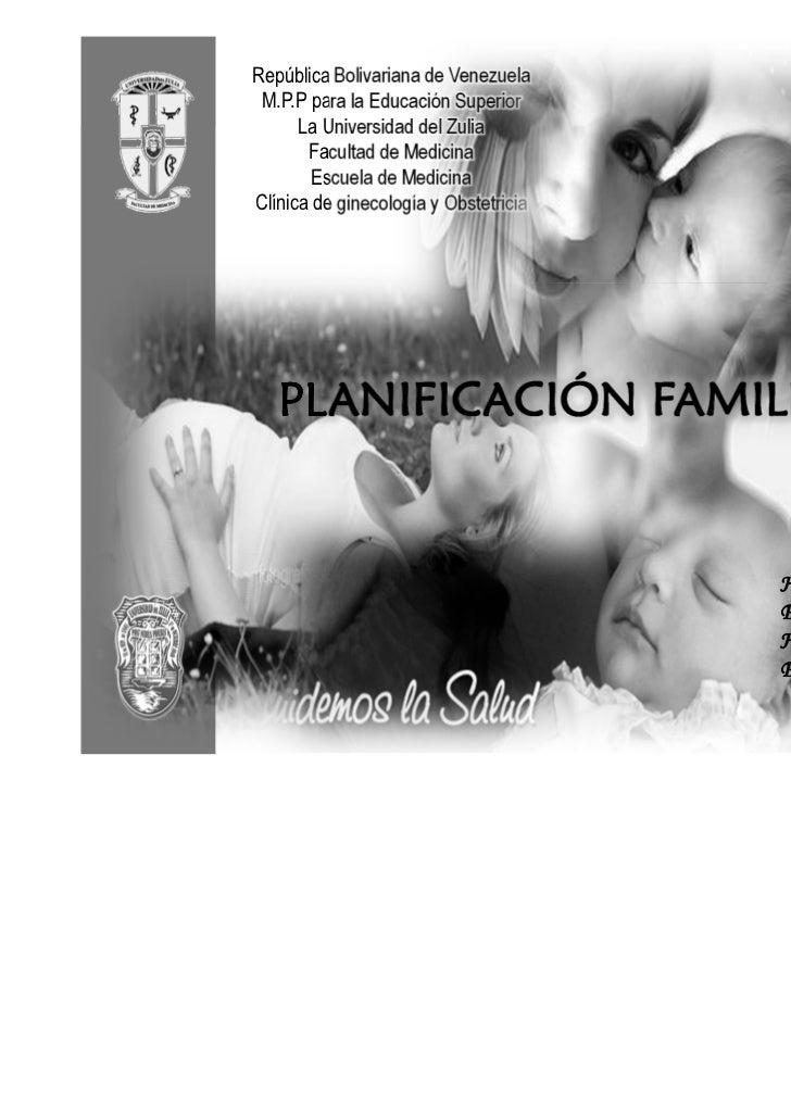 Planificacion familiar