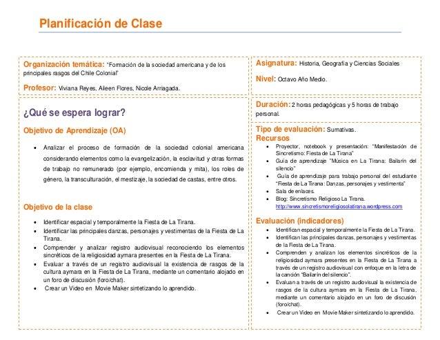Planificacion sincretismo religioso clase n°2 pdf