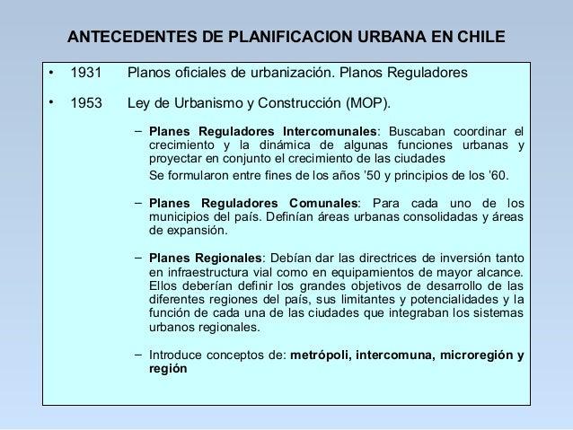Planificacion urbana clase