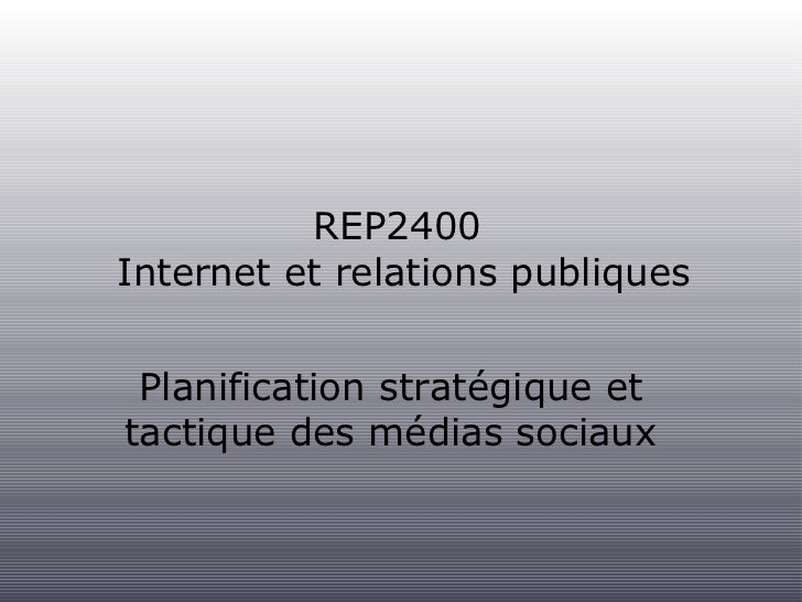 Planification strategique