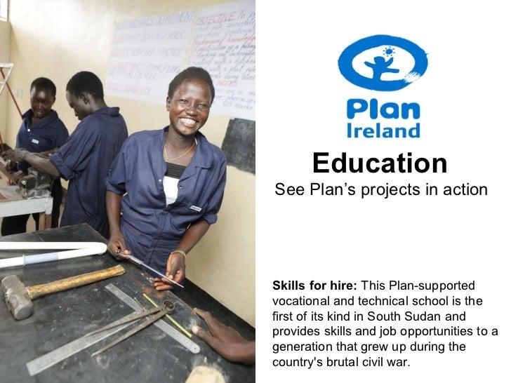 Plan Ireland- Education Programmes