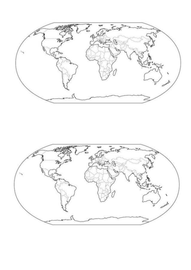 Planisferio mudo