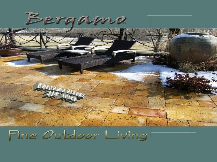 """Bergamo Planks 3/4"""" thick"""