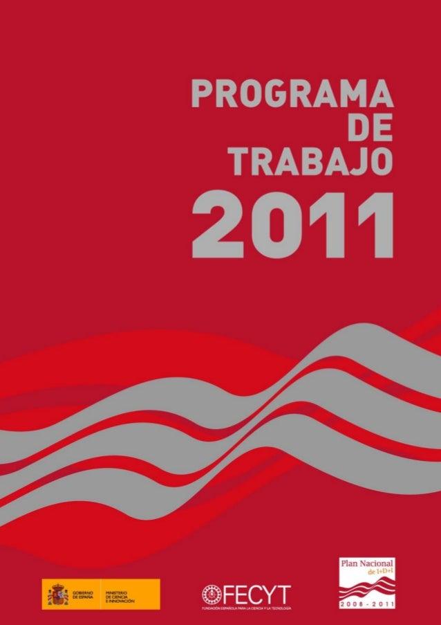 1Programa de Trabajo 2011