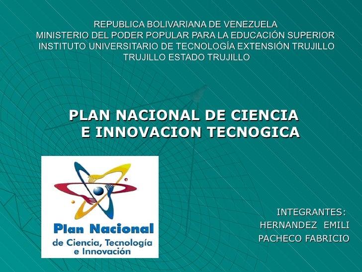 REPUBLICA BOLIVARIANA DE VENEZUELAMINISTERIO DEL PODER POPULAR PARA LA EDUCACIÓN SUPERIORINSTITUTO UNIVERSITARIO DE TECNOL...
