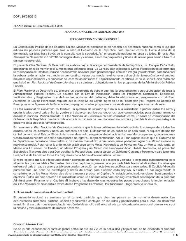 20/05/13 Documento sin títulowww.dof.gob.mx/nota_detalle.php?codigo=5299465&fecha=20/05/2013&print=true 1/119DOF: 20/05/20...