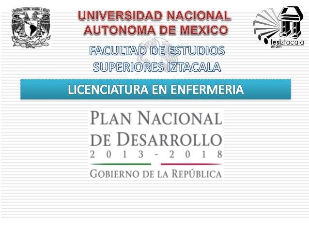 El Plan Nacional de Desarrollo 2013 – 2018 proyecta, en síntesis, hacer de México una sociedad de derechos, en donde todos...