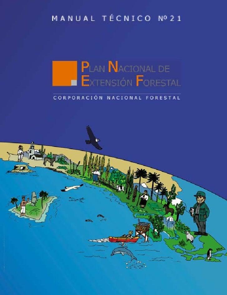 Plan nacional de extensión forestal