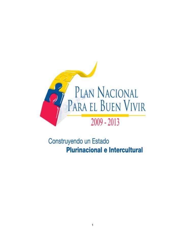 Plan nacional del_buen_vivir