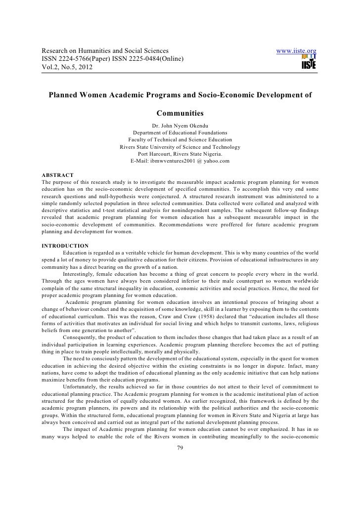 Research on Humanities and Social Sciences                                                            www.iiste.orgISSN 22...