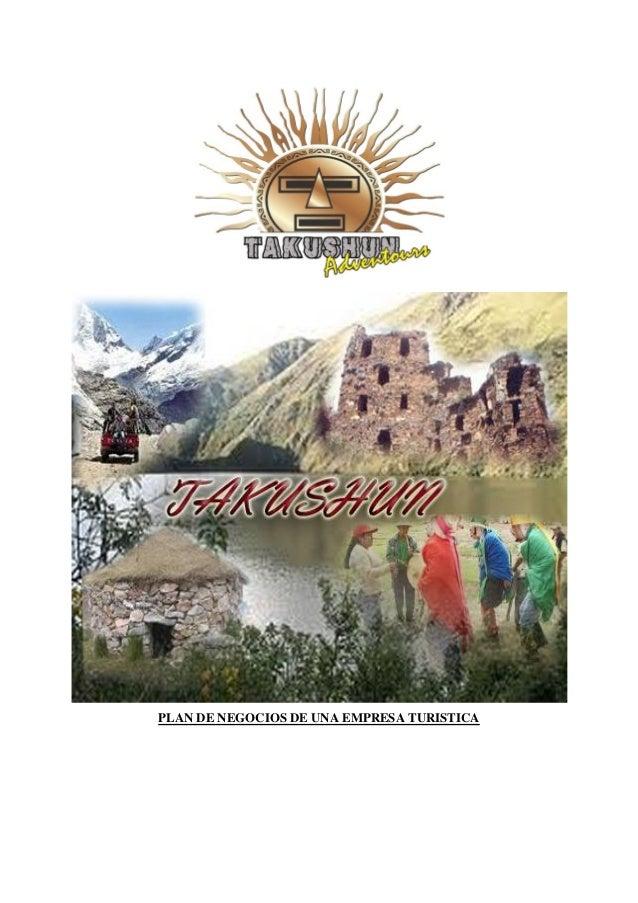 Pedro Espino Vargas - Plan negocios empresa_turistica